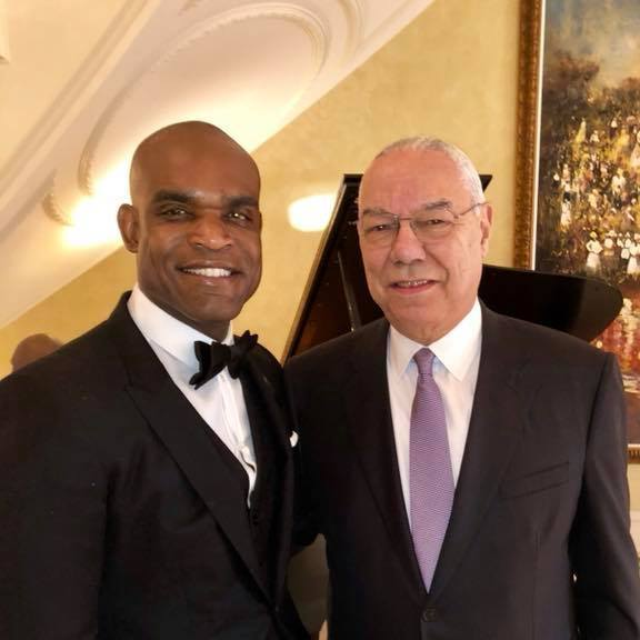 LEAP's CEO admires retired 4 Star Army General Colin Powell