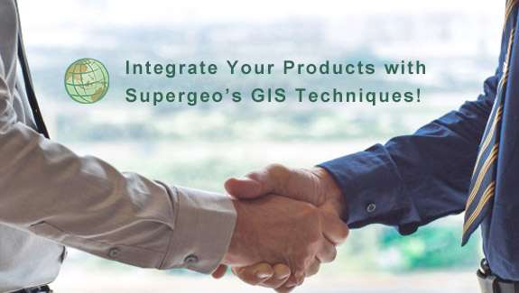 Integrate Your Products with Supergeo's GIS Techniques!
