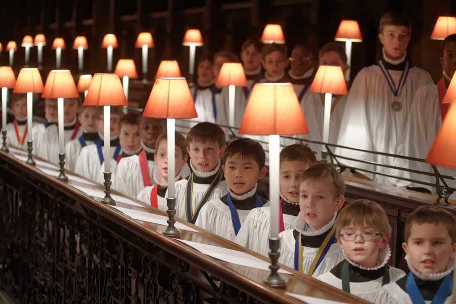 The Choristers of St. Paul's Cathedral-London will perform in Chicago April 21st