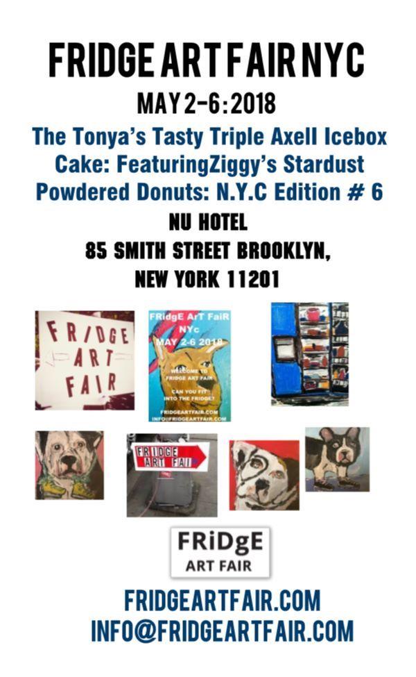 Fridge Art Fair NYC May 2-6 2018