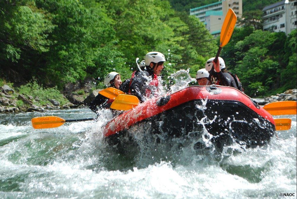 NAOC Kinugawa River Rafting