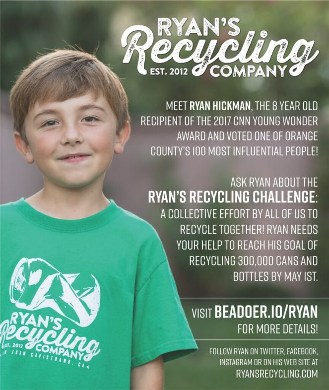 Ryan's Recycling Challenge