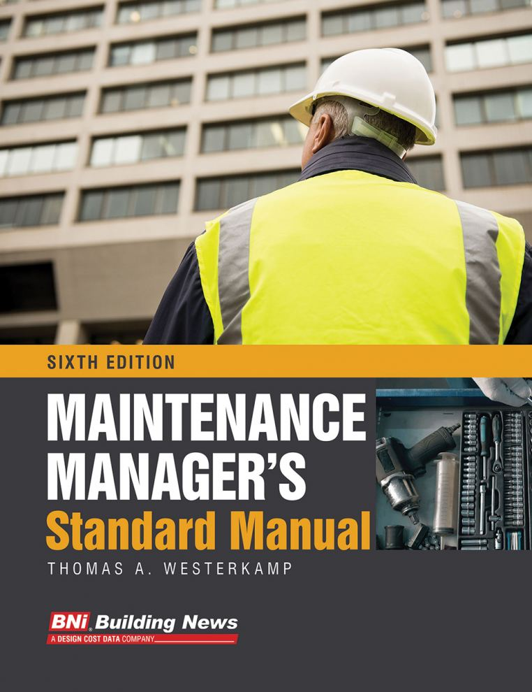 Maintenance Manager's Standard Manual - 6th edition