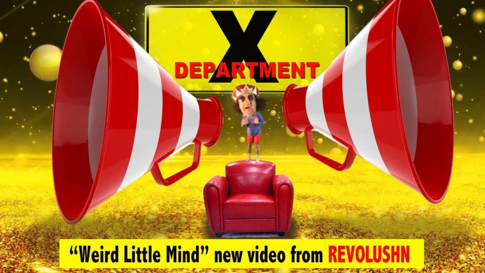 """Revolushn """"Weird Little Mind"""""""