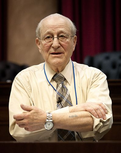 Irving Roth, director of the Holocaust Resource Center at the Temple Judea