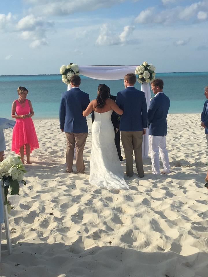 Beach Wedding At Bbc