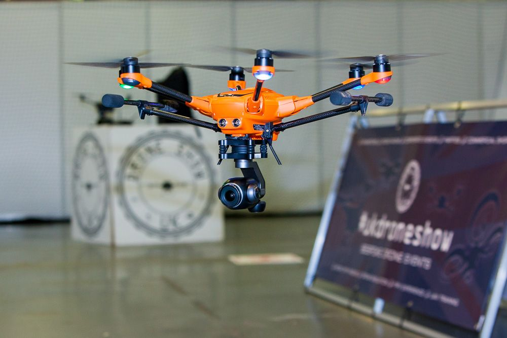 Drone Fly Zone at International Security Expo