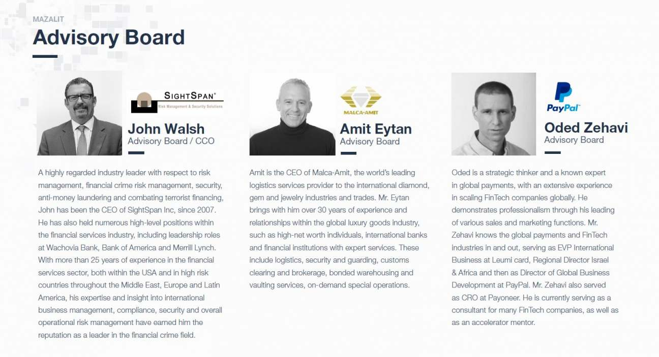 Mazalit Advisory Board