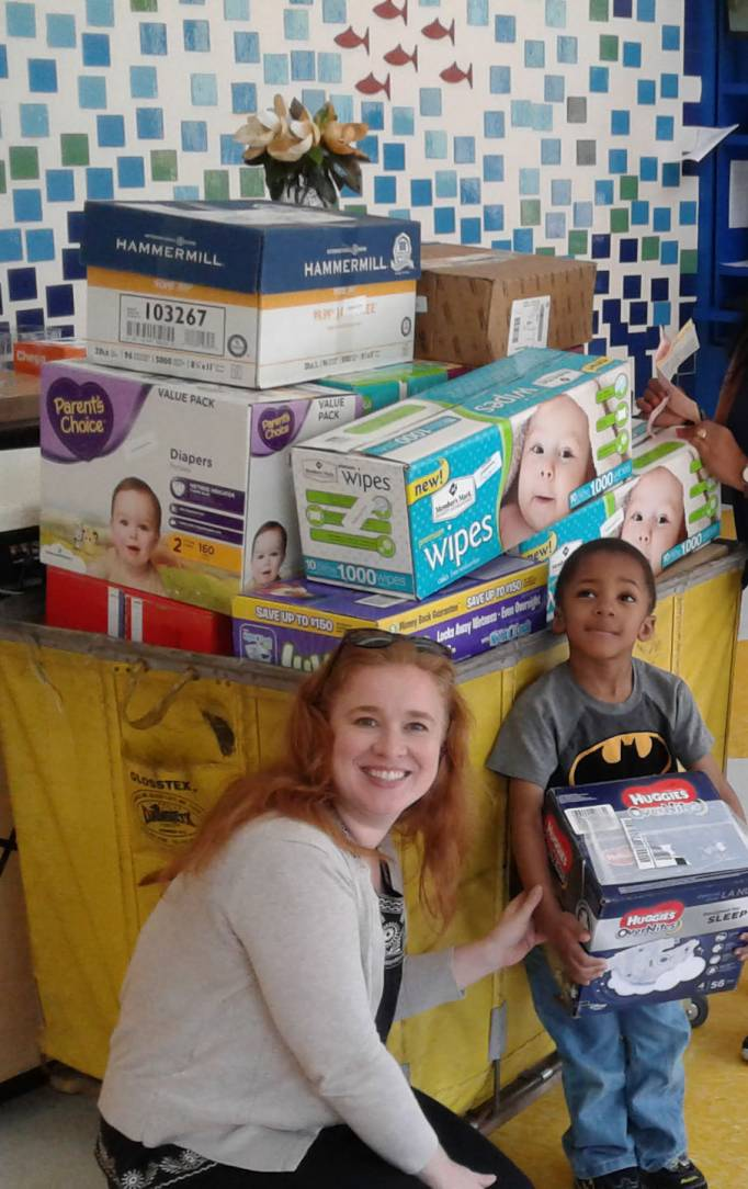 Join the 2018 Essentials Drive to help homeless babies and their moms.