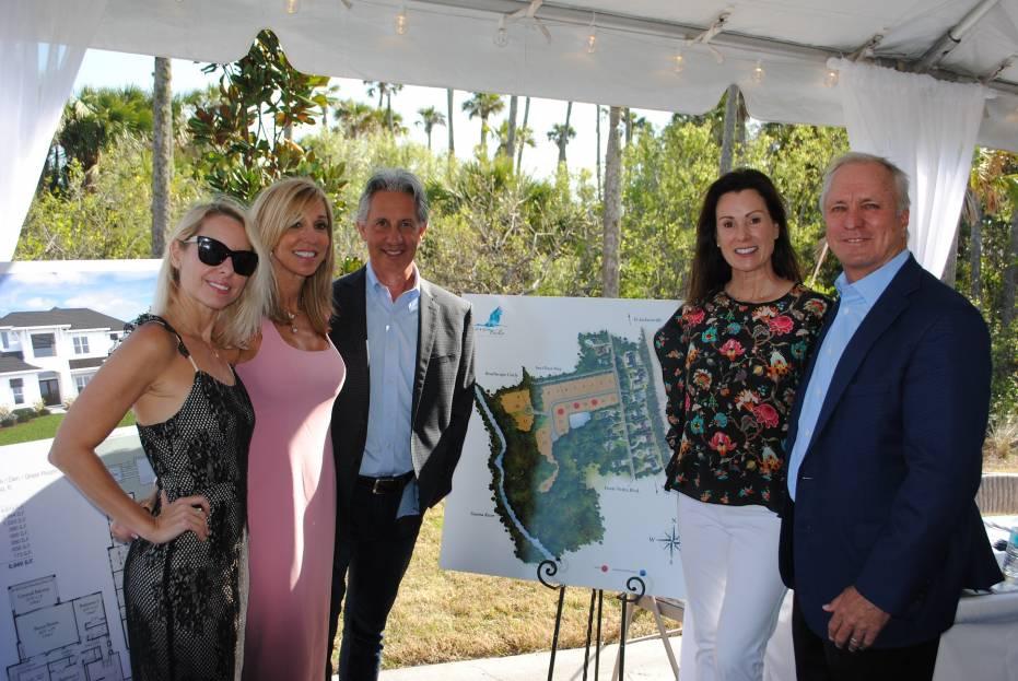 From left, Jenny Krebs, Joan Refosco, Mark Refosco, Billie Jo Burr and Ed Burr
