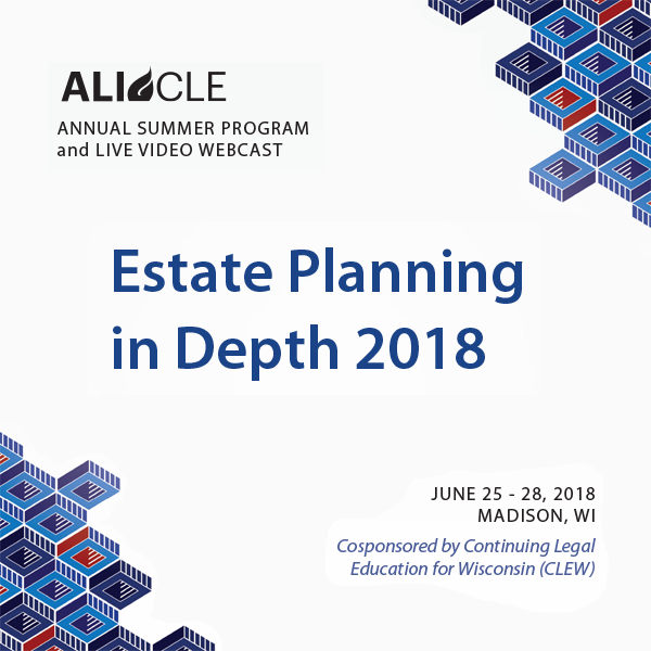Estate Planning in Depth