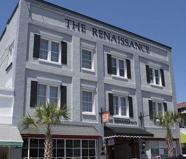 The historic Renaissance building in downtown Mount Dora, Florida