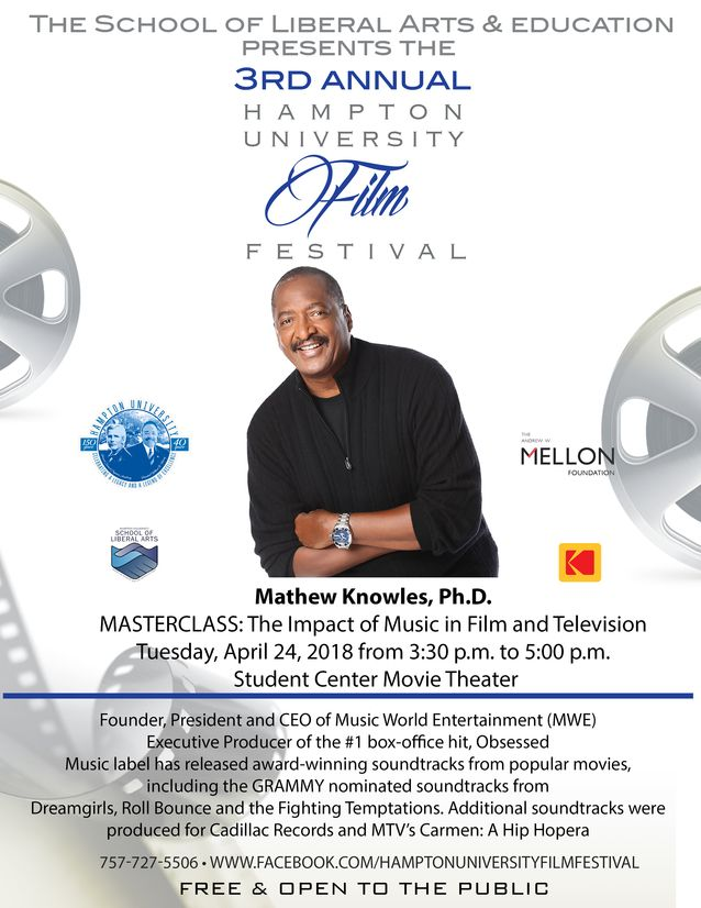 Dr. Mathew Knowles Founder, President and CEO of Music World Entertainment (MWE)