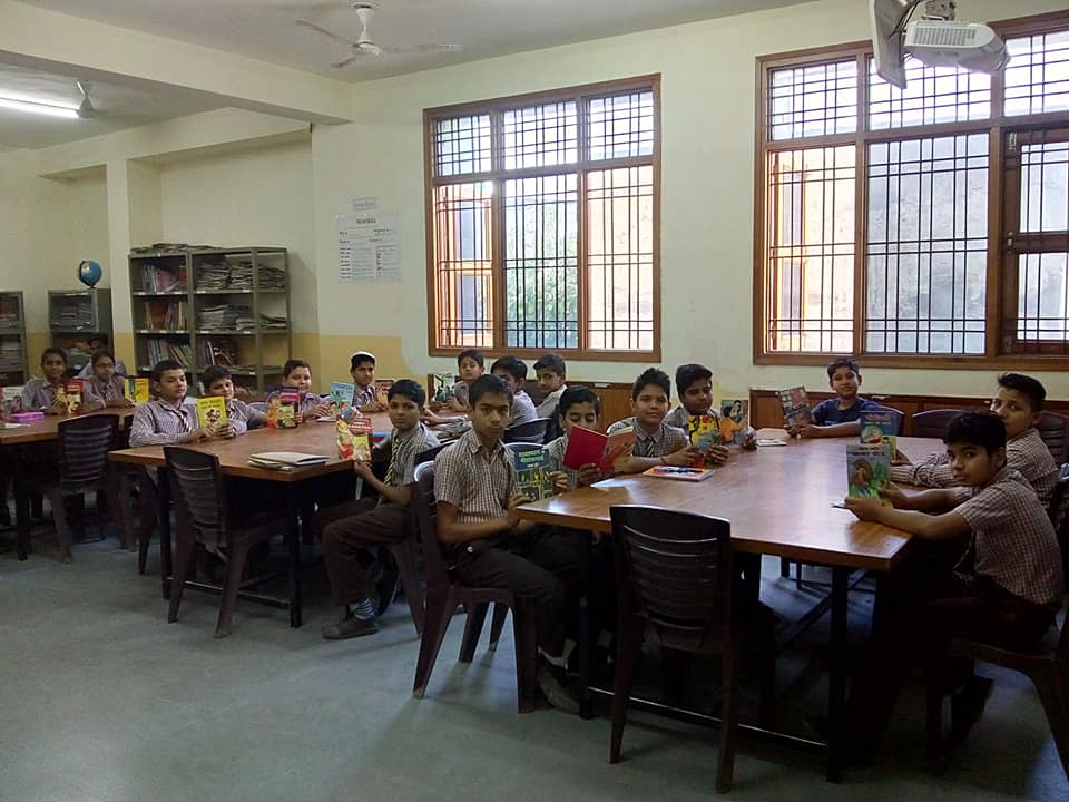 Poem Recitation & Readathon Mark JMA Pilani World Book Day