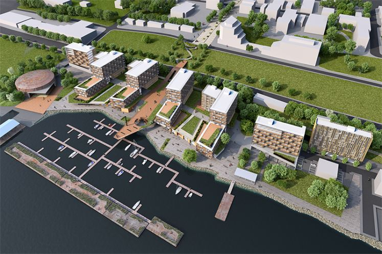 Proposed Waterfront Mixed-Use Development Newburgh