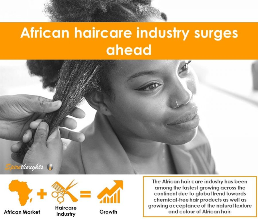African haircare industry surges aheadAfrican haircare industry surges ahead -- Spire Research and Consulting - PRLog - 웹