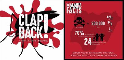 #ClapbackMalaria