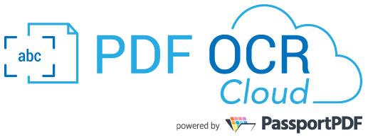 PDF OCR Cloud