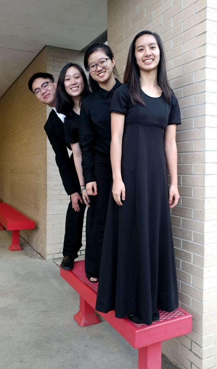 Houston Bellaire HIgh School String Quartet