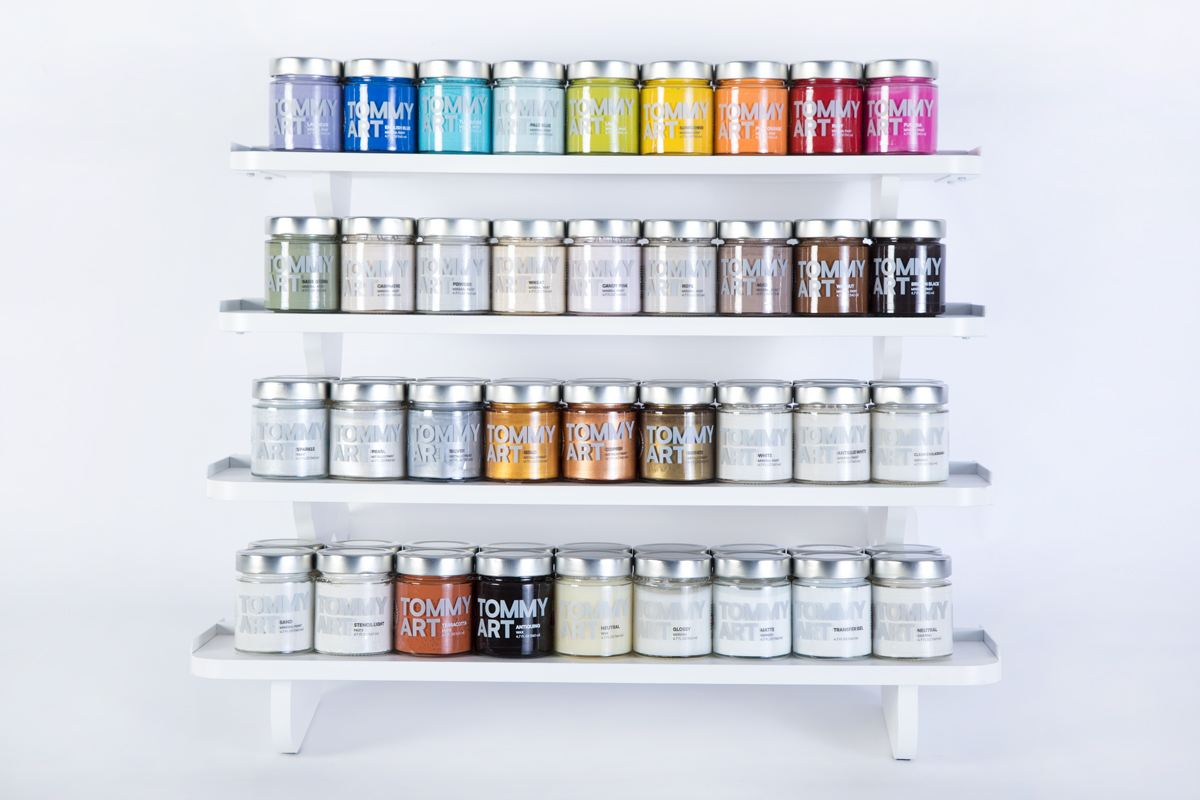 The DIY Paint System will be on display at the National Hardware Show