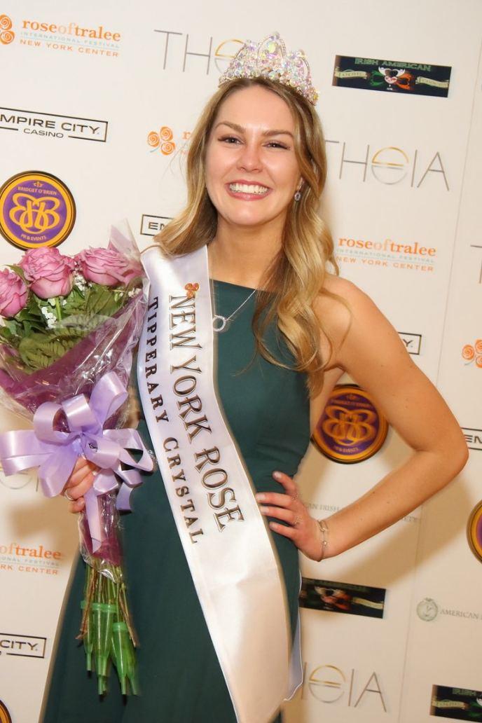 Sarah Ward NY Rose of Tralee Winner.