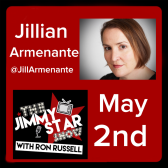 Jillian Armenante on The Jimmy Star Show With Ron Russell