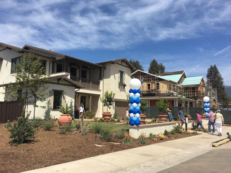 Limone and Amarena, two new home neighborhoods at Tree Farm, are now open