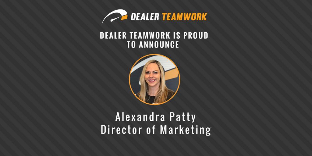 Alexandra Patty - Director of Marketing