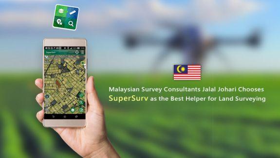 Jalal Johari Chooses SuperSurv as the Best Helper for Land Surveying
