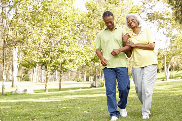 Walk With Ease has been shown to reduce arthritis pain (stock photo)