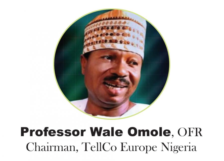 Prof Wale Omole