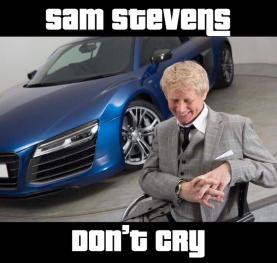 """Sam Stevens """"Don't Cry"""""""