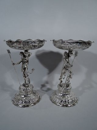 Antique George Fox Sterling Silver Comotes 1868 an
