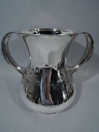 antique tiffany large heavy trophy cup antique sil