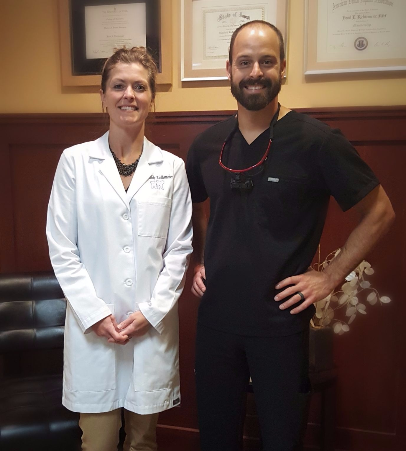 Dr. Mindy Richtsmeier and Dr. Brad Richtsmeier