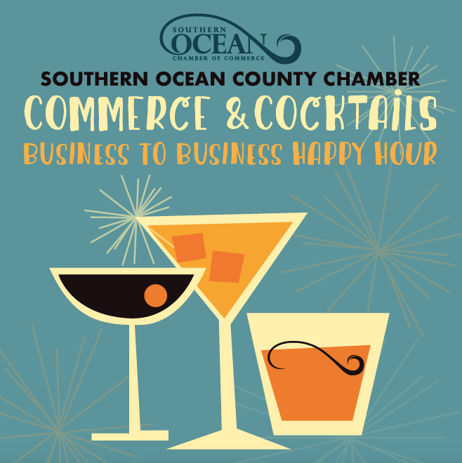 Commerce & Cocktails May 9 from 5 to 8pm