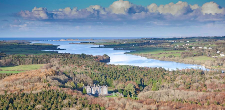 Belleek Castle Aeriel View.