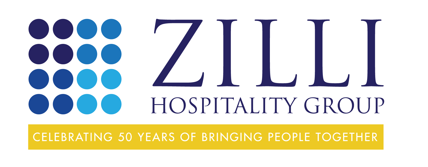 Zilli Hospitality Group - 50th Anniversary Logo