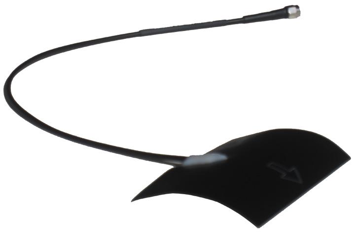 End-fire UAV Peel and Stick Antenna