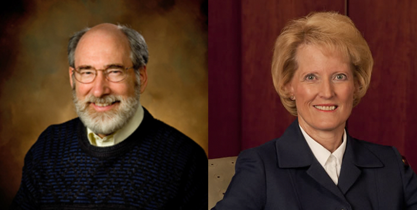 Thiel College will honor Donald Kraybill, Ph.D. and Shirley Roels, Ph.D.