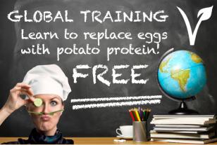 Vegan Potato Protein Replaces Eggs