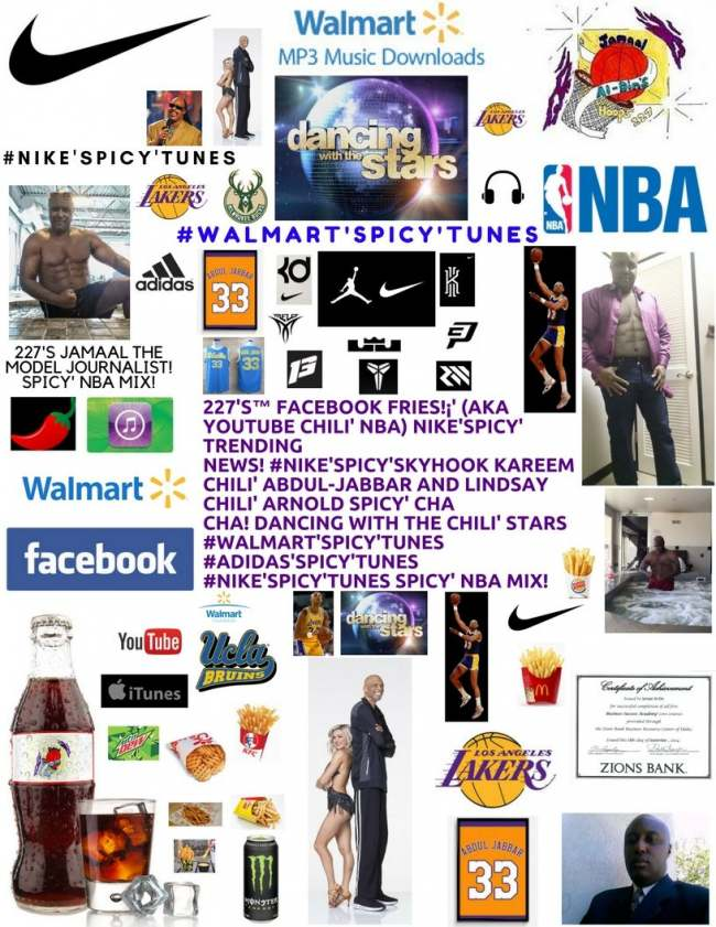 227's Facebook Fries (aka YouTube Chili' NBA) #Nike'Spicy' DWTS Spicy' NBA Mix!