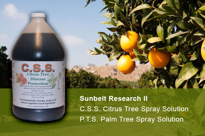 Citrus Spray Solution Tree & Plant Sprays Launched on Amazon & eBay