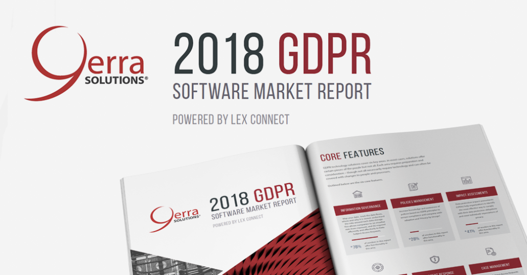 GDPR Software Market Report Available Now