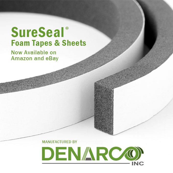 M2C helps launch SureSeal Foam Tapes on Amazon and eBay Marketplaces