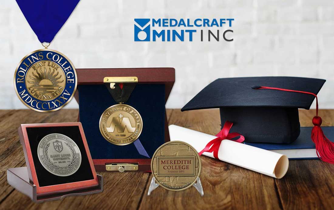 May Graduation Medals