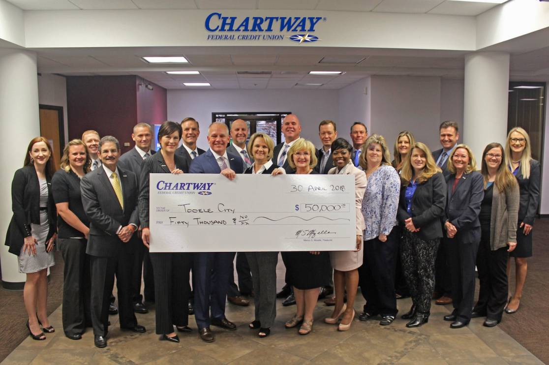 Chartway Donates $50000 to Restore Tooele Baseball Fields