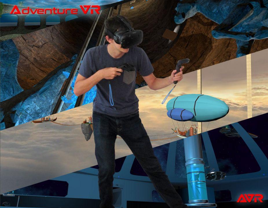 Adventure in VR