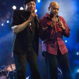 Al Jarreau and Chris Walker