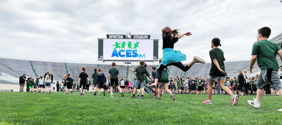 Aces Day at MSU Spartan Stadium